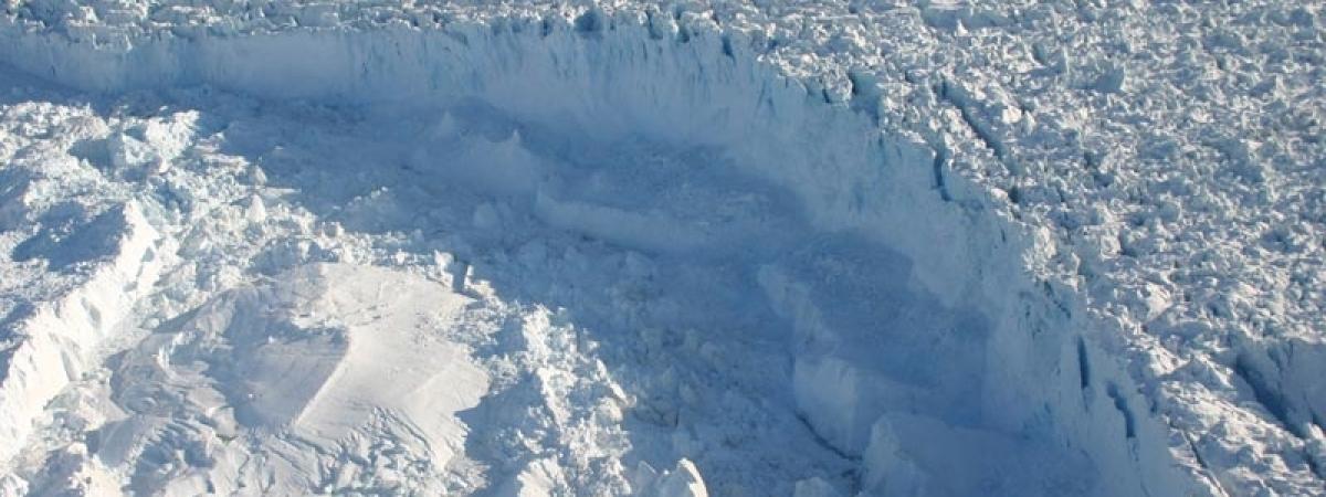 See a Giant Iceberg Fall Into the Sea