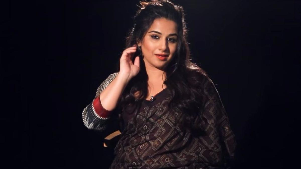 विद्या बालन के सेक्सी अंदाज में फिल्मी डायलॉग