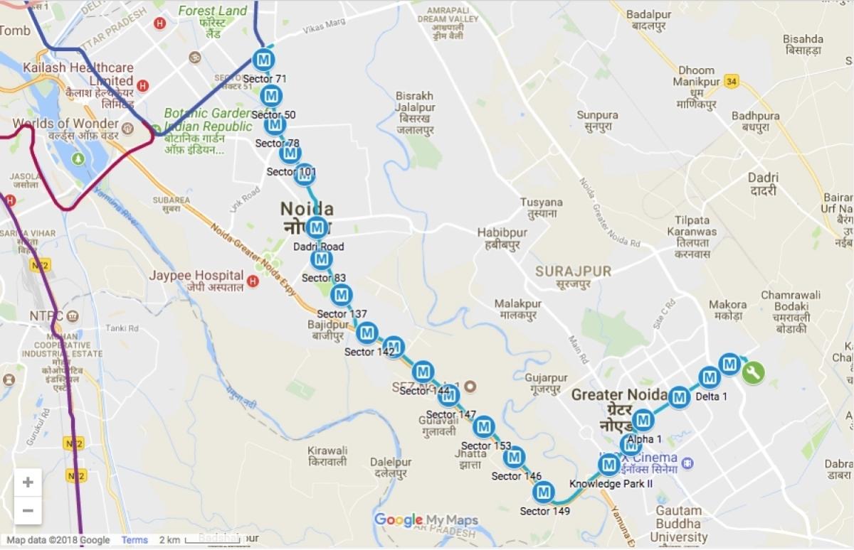 Noida-Greater Noida Aqua Line Metro: The ultimate Christmas gift for the residents of Noida