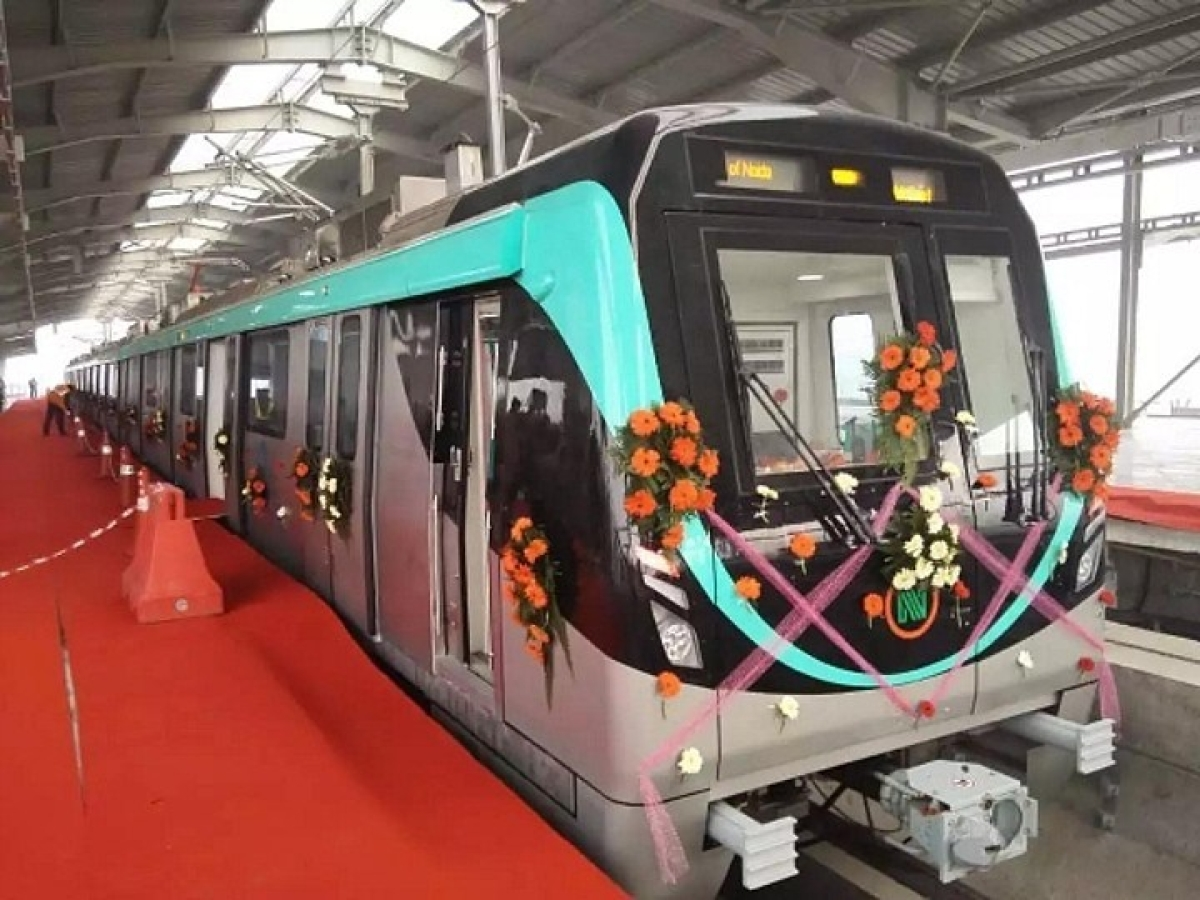 Noida-Greater Noida Aqua Line Metro: The ultimate Christmas gift for the residents of Noida