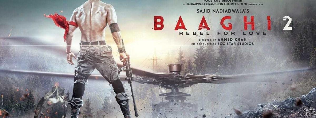 बागी-2 रिव्यू: एक्शन और सस्पेंस  से भरपूर है टाइगर की ये फिल्म