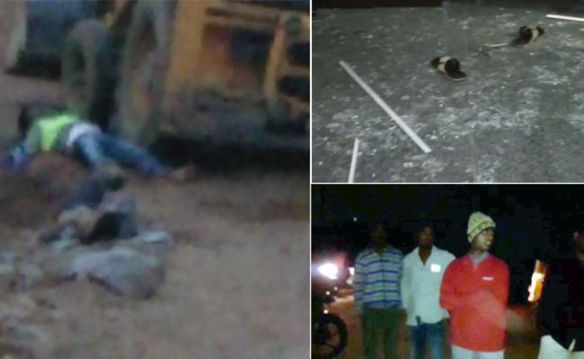 हैदराबाद के नानकरामगुड़ा ब्लास्ट में 4 घायल, आतंकी घटना से इनकार