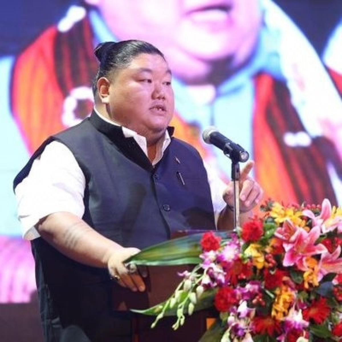 Nagaland minister and state BJP president Temjen Imna Along