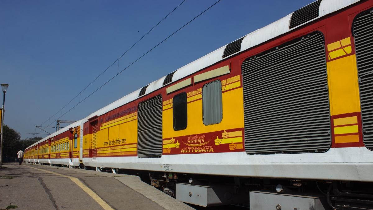 Railways To Run 16-Coach Unreserved Antyodaya Train From Chennai To Sengottai